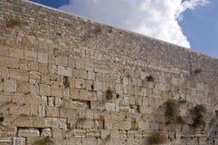 以色列耶路撒冷哭墙 免版税库存图片