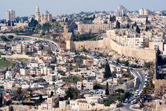 以色列耶路撒冷 库存图片