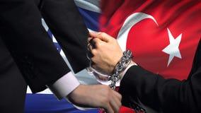 以色列认可土耳其,被束缚的胳膊,政治或者经济冲突,商业禁令 影视素材