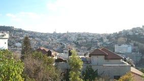 以色列,大约2011年-大阿拉伯村庄 股票视频