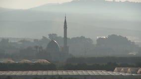 以色列,大约2011年-大阿拉伯村庄 股票录像