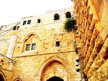 以色列,耶路撒冷,东部的Midlle,在锡安山的最后的晚餐 免版税库存照片