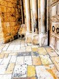 以色列,耶路撒冷,圣墓教堂 免版税库存照片