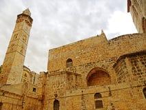 以色列,耶路撒冷,圣墓教堂 库存照片