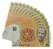 以色列货币葡萄酒 图库摄影