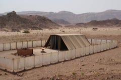 以色列临时房屋帐篷 免版税库存照片