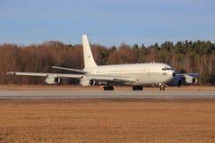 以色列-空军队波音707-3L6C 免版税库存图片