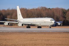 以色列-空军队波音707-3L6C 库存照片