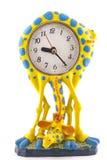 以长颈鹿的形式时钟 库存图片