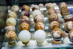 以鸡蛋的形式大理石 免版税图库摄影