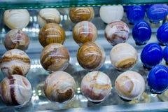 以鸡蛋的形式大理石 免版税库存图片