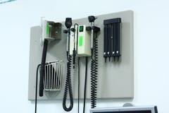 仪器医疗墙壁 免版税库存图片