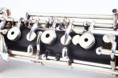 仪器音乐会oboe 免版税库存照片