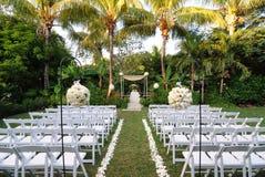 仪式婚礼 免版税库存照片