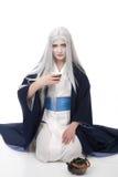仪式幻想茶 免版税图库摄影