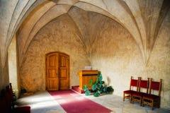 仪式捷克大厅共和国婚礼 库存图片