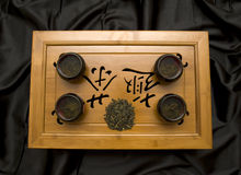 仪式日本人茶室 库存照片