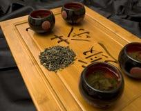 仪式日本人茶室 免版税库存图片