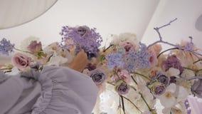 仪式的婚姻的装饰 股票录像