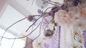 仪式的婚姻的装饰 影视素材