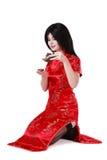 仪式茶 免版税库存图片