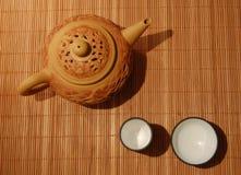 仪式茶 库存照片