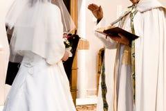 仪式订婚 图库摄影