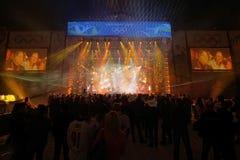 仪式音乐会奖牌奥林匹克温哥华 免版税库存照片