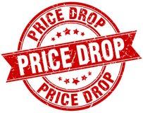 价格下跌邮票 向量例证