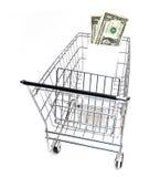 价格合理的购物 库存图片