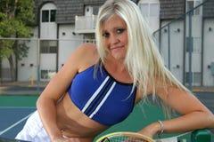 任何人网球 免版税图库摄影