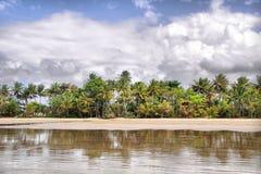 任务海滩 库存图片