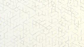任意地被挤压的三角抽象几何纹理  免版税图库摄影