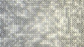 任意地被挤压的圈子抽象几何纹理  免版税库存照片