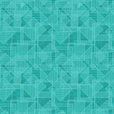 任意地被重复的正方形纹理向量 库存例证