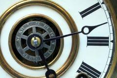 仿古时钟表盘 库存照片