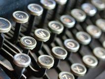 仿古老打字机 免版税库存图片