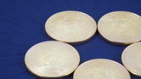 仿效bitcoins的硬币 影视素材