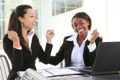 企业不同的妇女 免版税库存照片