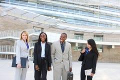 企业不同的种族小组 免版税库存照片