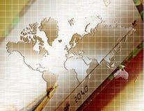 企业世界 免版税库存图片