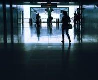 企业乘客结构 库存照片