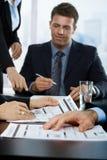 企业买卖人报告复核 库存图片