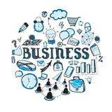企业乱画 免版税库存图片