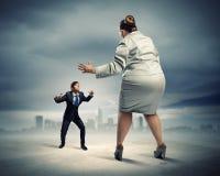 企业争议 库存图片