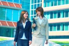 企业二妇女 免版税库存照片