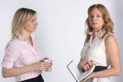 企业二妇女 免版税图库摄影