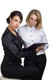 企业二妇女 库存图片