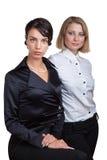 企业二妇女 图库摄影