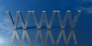 企业互联网万维网 免版税库存图片